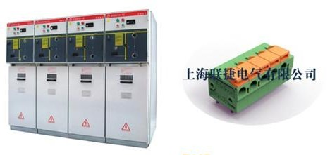 联捷电气弹簧式接线端子在環網櫃上的应用