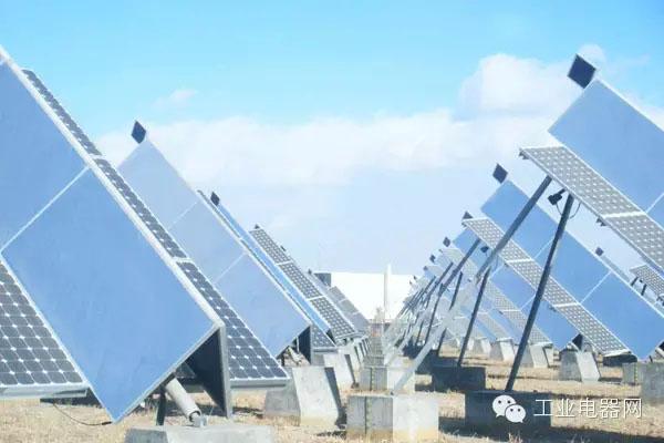 太阳能热电站是怎么进行能量转换的?