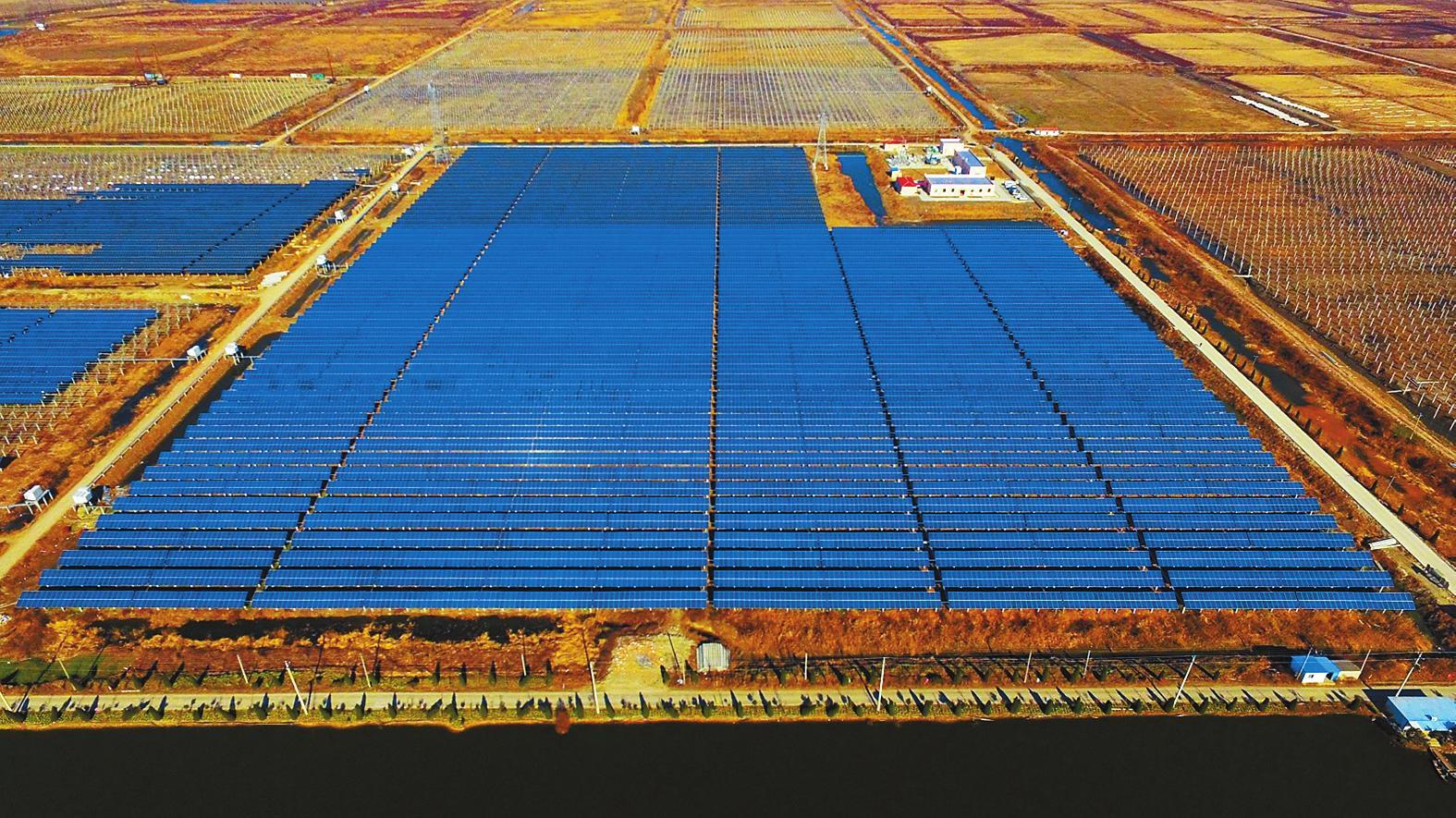 青岛屋顶发电呈快速增长之势