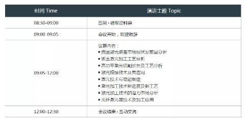 CIMES2018-中國激光加工及智能制造技術研討會6月27在京召開