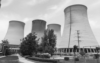 太原第二热电厂外景图。中国经济导报记者宋阳/摄