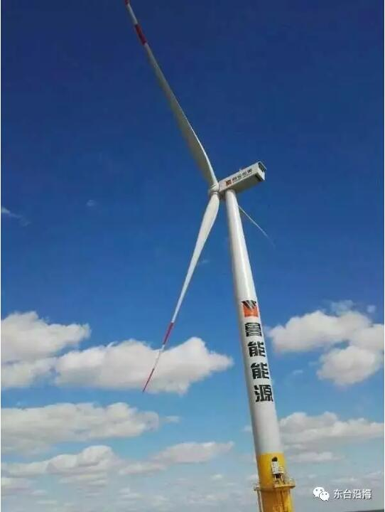 【图文】壮观:鲁能江苏东台200mw海上风电项目成功并网