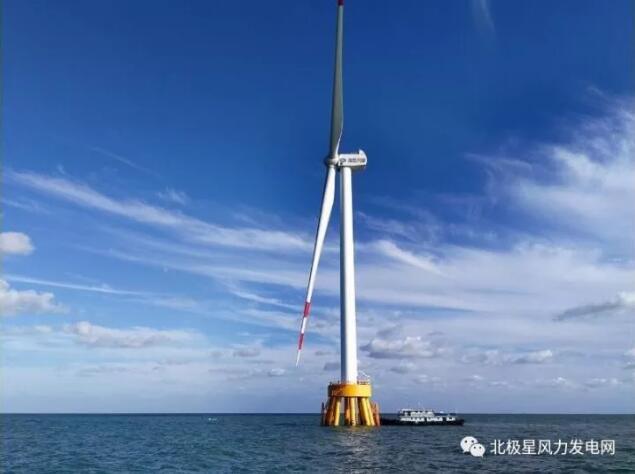 华能如东海上项目为国产5兆瓦风机应用探路 海上风电加速迈入大机组