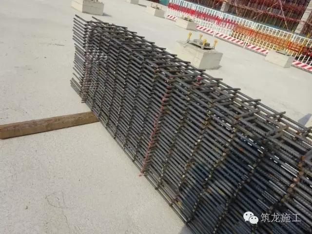 墙体定位梯子筋-不放心 看现场 阿苏卫循环经济园生活垃圾焚烧发电厂