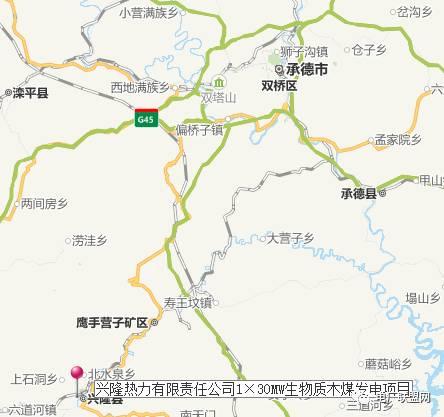 承德市兴隆县地图