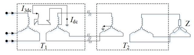 自制自激逆变器后级电路图