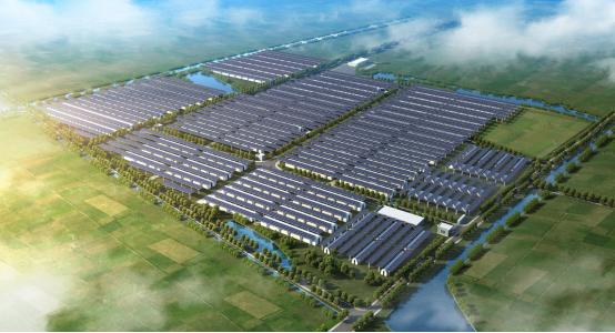 五方夹�jy��9��n'_安徽固镇3.9mw农光互补项目成功并网