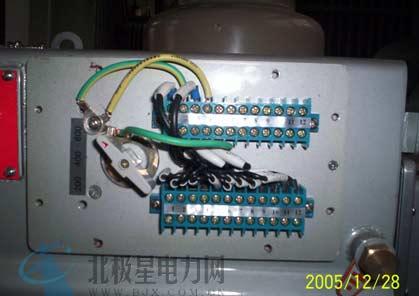 将电流互感器的二次接线直接接到jx端子排上,解决了电流互感器接线